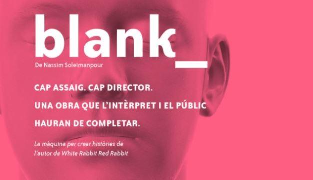 Assistim a la roda de premsa de BLANK a la Sala Muntaner