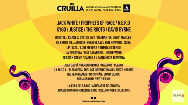 cruilla 2018