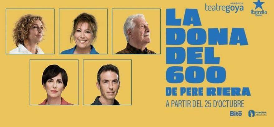 Crítica: La dona del 600 al Teatre Goya – Un espectacle de 10