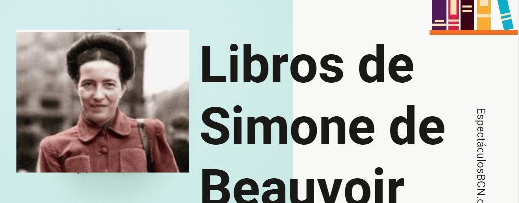 Simone de Beauvoir: libros más importantes