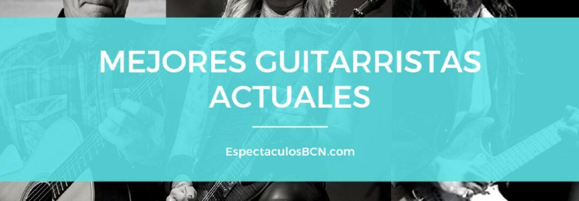 El top 13 de los mejores guitarristas actuales