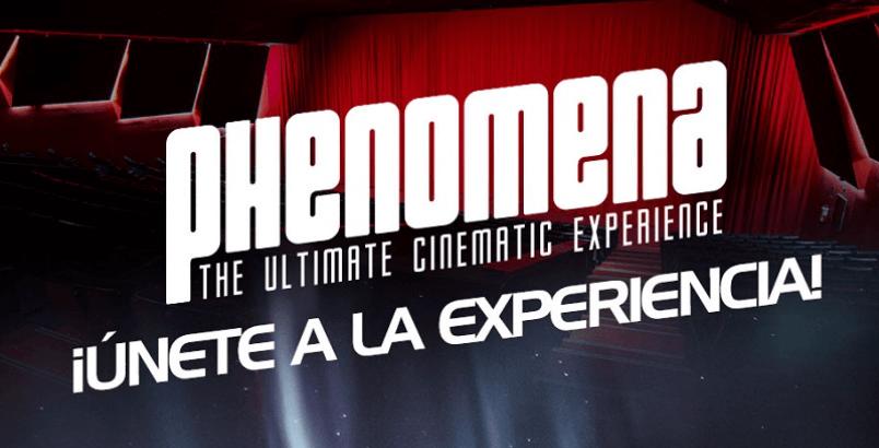 Vuelve el cine Phenomena y lo hace por la puerta grande
