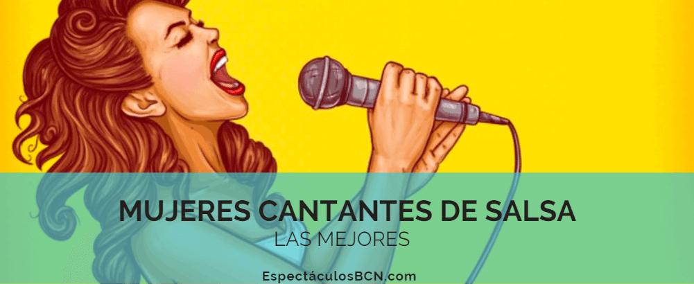 6 mujeres cantantes de salsa -LAS MEJORES-