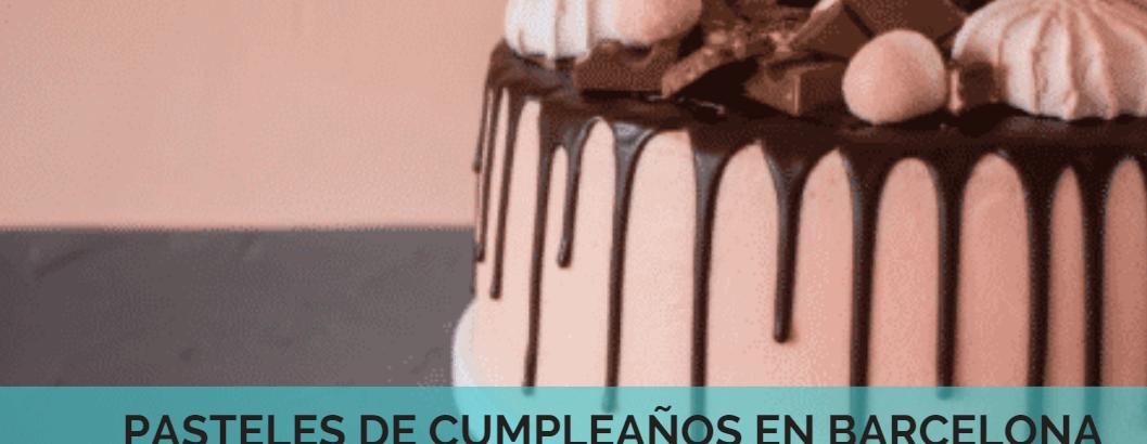 Descubre los mejores pasteles de cumpleaños en Barcelona
