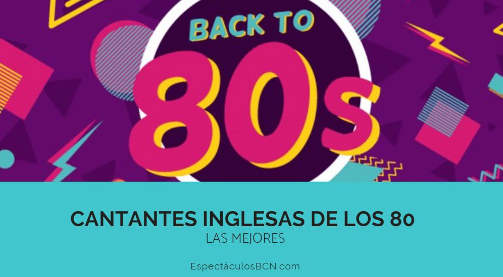 Cantantes inglesas años 80