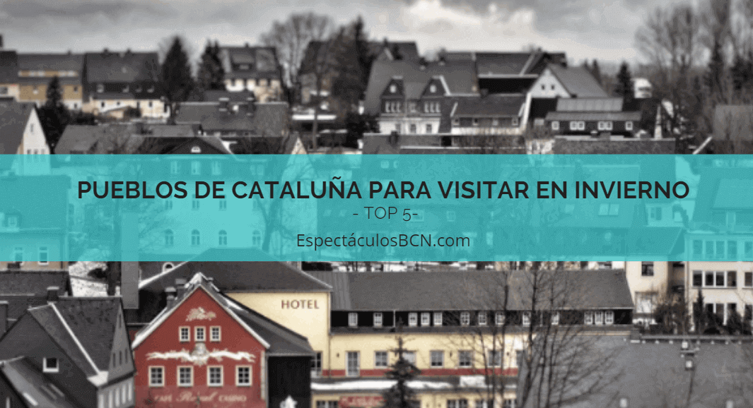 Pueblos rurales en cataluña