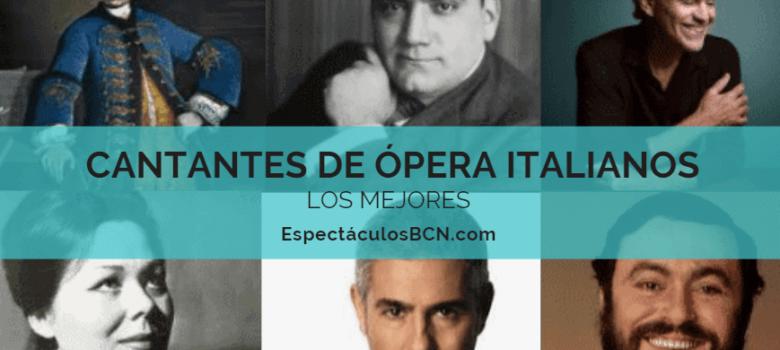 cantantes de ópera