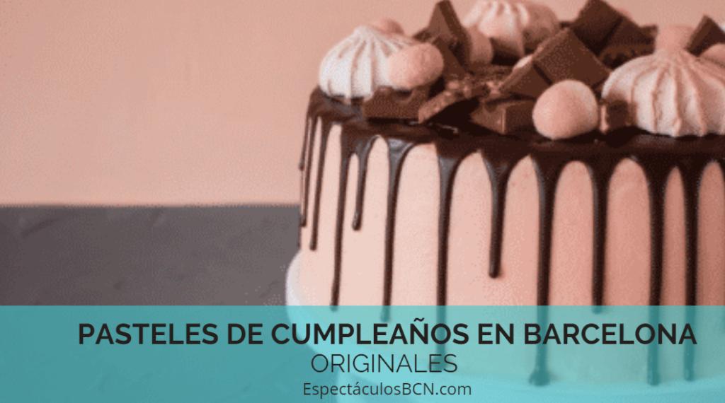 Pasteles originales en Barcelona