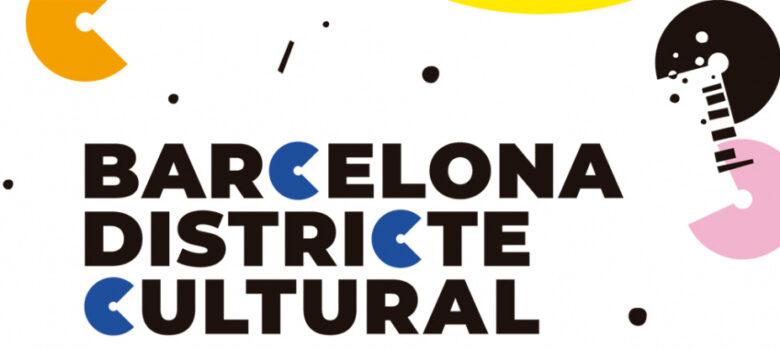 teatro, danza, música. cine, Barcelona districte cultural