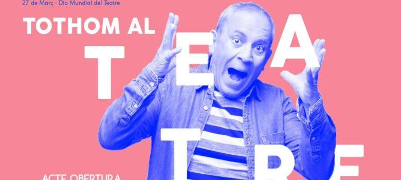 setmana mundial del teatre, obras, autores, actores, Barcelona, covid