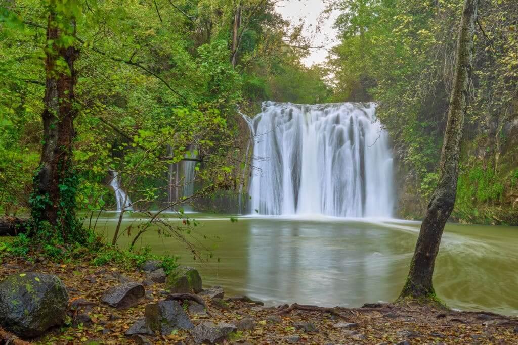 cascadas en Cataluña