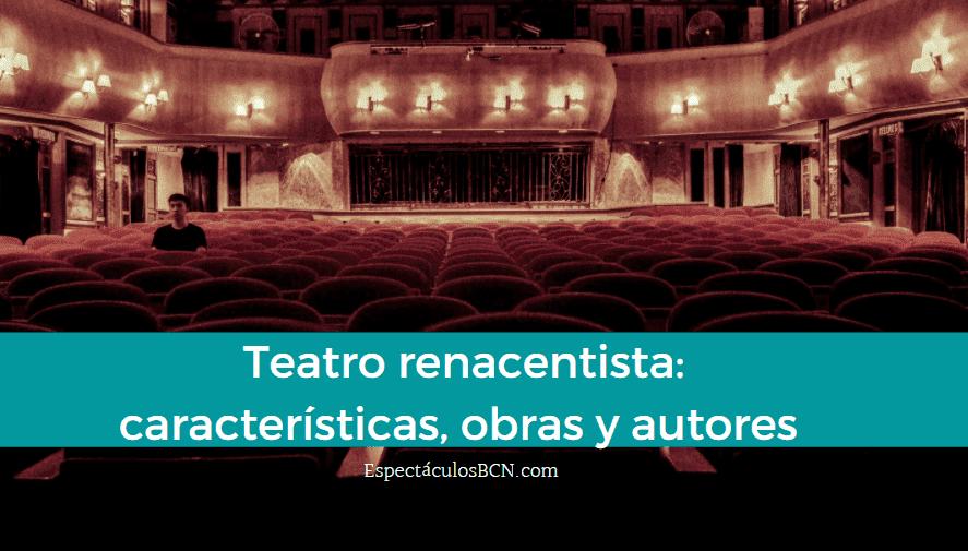teatro del renacimiento