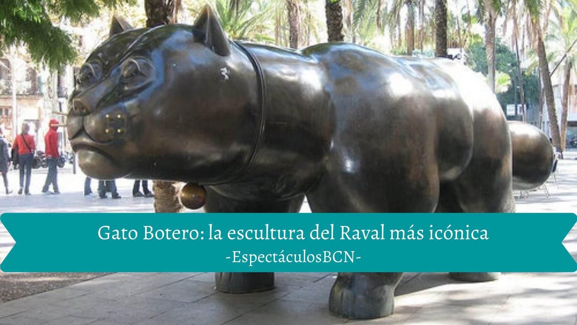Gato Botero de Barcelona