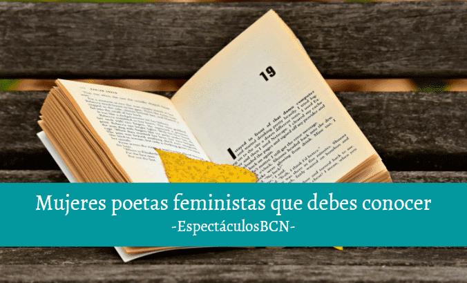 5 mujeres poetas feministas a quien dar voz