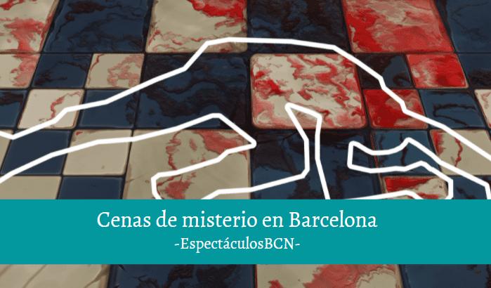 Las mejores cenas de misterio en Barcelona: ¡gastronomía y teatro!