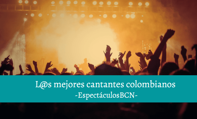 cantantes colombianos actuales