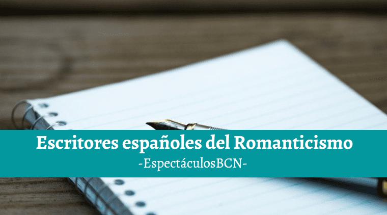 autores del romanticismo en españa