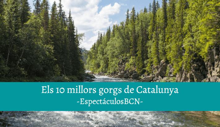 Els 10 millors gorgs de Catalunya per un estiu fresquet