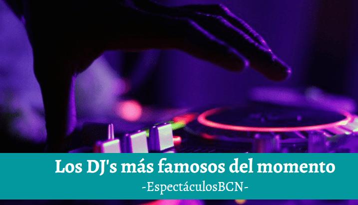 5 DJs famosos que tienes que conocer