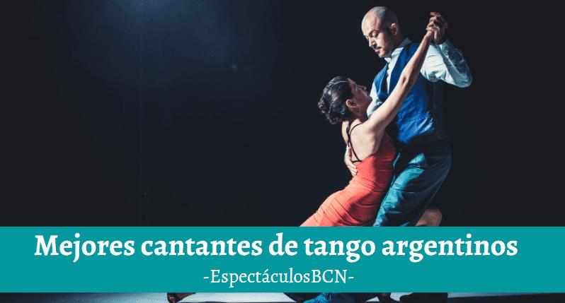 cantantes de tango argentinos